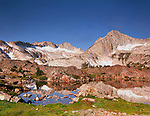 Mt. Conness &amp; North Peak Rise over the Hoover Wilderness in the Sierra Nevada of California