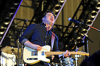 LONDON, ENGLAND - JULY 8: Marcus Mumford of 'Mumford &amp; Sons' performing at British Summertime, Hyde Park on July 8, 2016 in London, England.<br /> CAP/MAR<br /> &copy;MAR/Capital Pictures /MediaPunch ***NORTH AND SOUTH AMERICAS ONLY***