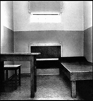 BNPS.co.uk (01202 558833)<br /> Pic: TheHistoryPress/BNPS<br /> <br /> The interior of the cell where Douglas spent six weeks in solitary confinement.<br /> <br /> A former spy has given a unique account of being held hostage in an East German prison and interrogated by the KGB in a new book.<br /> <br /> Ex-British agent Douglas Boyd was confronted by the KGB while enduring solitary confinement as a Cold War prisoner in a Stasi interrogation prison behind the iron curtain in 1959.<br /> <br /> KGB officers tried desperately to get him to break his cover - of a run of the mill clerk - and offered him a bogus deal in order to get him out of the prison so they could take him to a Gulag.<br /> <br /> The Solitary Spy, A Political Prisoner in Cold War Berlin, by Douglas Boyd, is published by The History Press and costs &pound;20.