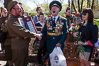 Russian Veterans Celebrate Victory Day 2013