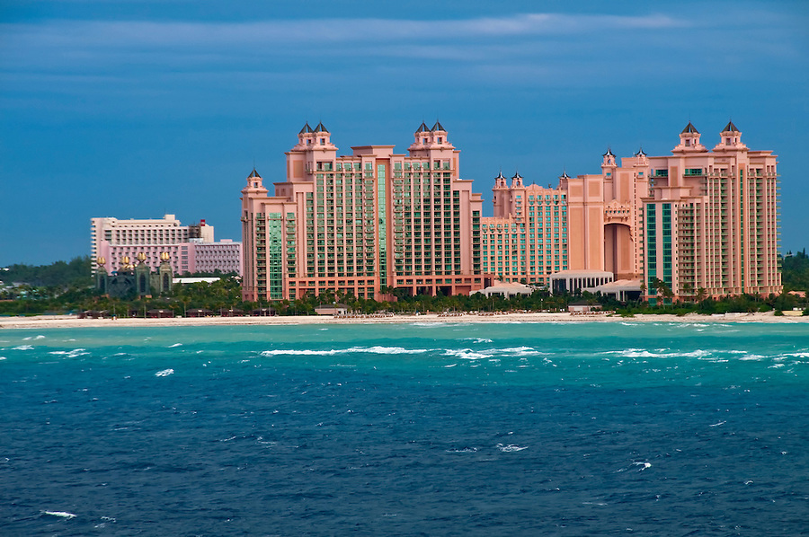 Resort and apartment complex in Nassau, Bahamas.