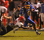 Oxford High's Stan Ivy (6) runs vs. Center Hill in Oxford, Miss. on Friday, September 23, 2011.
