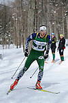 9 MAR 2011: Sam Tarling of Dartmouth University competes in the men's 10km freestyle cross country race during the 2011 NCAA Men and Women's Division I Skiing Championship held Stowe Mountain Resort and Trapp Family Lodge in Stowe, VT. Tarling placed 1st to win the national title. ©Brett Wilhelm/NCAA Photos