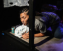 "Edinburgh, UK. 05.08.2016. Clean Break theatre company presents ""Amongst the Reeds"", by Chino Odimba, directed by Roisin McBrinn, at Assembly Box, as part of the Edinburgh Festival Fringe. Picture shows: Jan Le (Gillian). Photograph © Jane Hobson."