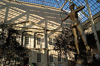 Metropolitan Museum of Art, New York City, New York, American Wing, Diana by Augustus Saint-Gaudens