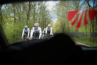 first pre-Giro training ride with Team Trek-Segafredo in Gelderland (The Netherlands)<br /> <br /> 99th Giro d'Italia 2016