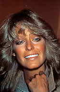 "New York City - Circa 1978. Portrait of actress Farrah Fawcett. (February 2, 1947 - June 25, 2009) She was an American actress and artist, who rose to international fame when she posed for poster as private investigator Jill Munroe in the first season of television series Charlie's Angels (1976-77). Notably, Fawcett was ranked No.26 on TV Guide's ""50 Greatest TV Stars of All Time"" list, as well as starred in television movies such as The Burning Bed and Poor Little Rich Girl: The Barbara Hutton Story."