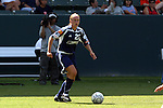 27 June 2004: Christie Welsh of the New York Power during the 2004 WUSA Festival at the Home Depot Center in Carson, California.