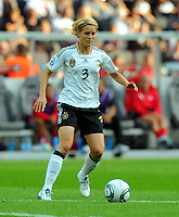 Saskia Bartusiak of Germany during the FIFA Women's World Cup at the FIFA Stadium in Berlin, Germany on June 26th, 2011.