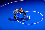 12 MAR 2011: Clayton Rush of Coe takes on Llyod McKinney of Wisconsin La Crosse in the 125lb final during the Division III Men's Wrestling Championship held at the La Crosse Center in La Crosse Wisconsin. Rush defeated McKinney 11-8 to claim the national title. Stephen Nowland/NCAA Photos