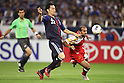 (L to R) Maya Yoshida (JPN), Jaber Al Owaisi (OMA), .June 3, 2012 - Football / Soccer : .FIFA World Cup Brazil 2014 Asian Qualifier Final Round, Group B .match between Japan 3-0 Oman .at Saitama Stadium 2002, Saitama, Japan. .(Photo by Daiju Kitamura/AFLO SPORT) [1045]