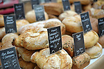 Bread for sale at an RHS Secret Garden Sunday.