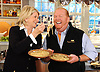"Martha Stewart and Mario Batali are seen during the production of ""The Martha Stewart Show"" in New York on Monday, October 18, 2010. Photo: David M. Russell/The Martha Stewart Show"