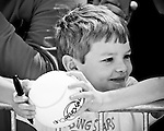 Jacob Rawson, 7, waits for an autograph during the 2011 Family Circle Cup at Daniel Island.