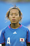 21 August 2008: Azusa Iwashimizu (JPN). Germany's Women's National Team defeated Japan's Women's National Team 2-0 at the Worker's Stadium in Beijing, China in the Bronze Medal match in the Women's Olympic Football tournament.