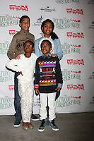 Marcus Scribner, Marsai Martin, Miles Brown, Yara Shahidi<br />