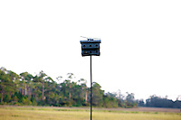 LITTLE ST. SIMONS ISLAND, FL -- October 1, 2010 -- A bird house is seen on Little St. Simons Island on Friday, October 1, 2010.   The 10,000 acres of marshland, beaches, and forests are a refuge for wildlife and vacationers alike with only 32 guests permitted a night.  (Chip Litherland for Bay Magazine)