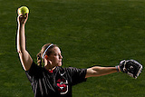 Stanford softball pitcher Missy Penna.