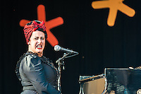 Davina & the Vagabonds at the 2013 Monterey Jazz Festival