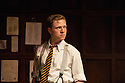 London, UK. 02.04.2014. ANOTHER COUNTRY, by Julian Mitchell, directed by Jeremy Herrin, opens at the Trafalgar Studios after a successful run at Chichester's Minerva Theatre last year. Picture shows: Will Attenborough (as Judd). Photograph © Jane Hobson.