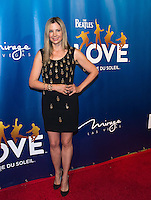 LAS VEGAS, NV - July 14, 2016: Mira Sorvino pictured arriving at The Beatles LOVE by Cirque Du Soleil at The Mirage Resort in Las vegas, NV on July 14, 2016. Credit: Erik Kabik Photography/ MediaPunch