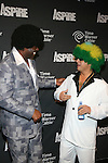 """Earvin """"Magic"""" Johnson and Time Warner's Jeff Hirsch Attend ASPiRE presents the Super 70s Soul Party Hosted Earvin """"Magic"""" Johnson  at Time Warner Cable Studio Highline Stages, NY"""