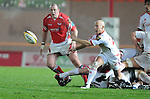 Peter Stringer gets the ball out. Scarlets V Munster, Magners League  © Ian Cook IJC Photography iancook@ijcphotography.co.uk www.ijcphotography.co.uk