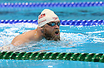 Rio de Janeiro-6/9/2016-Canadian swimmer Jonathan Dieleman trains at the Olympic Aquatics Stadium prior to the Paralympic Games in Rio. Photo Scott Grant/Canadian Paralympic Committee