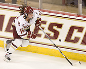 Ashley Motherwell (BC - 18) - The Boston College Eagles defeated the visiting Brown University Bears 5-2 on Sunday, October 24, 2010, at Conte Forum in Chestnut Hill, Massachusetts.