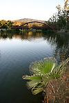 lake Vasona in Los Gatos at sunset