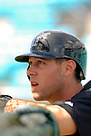 14 March 2006: Jeremy Hermida, outfielder for the Florida Marlins, awaits his turn in the batting cage prior to a Spring Training game against the Washington Nationals. The Marlins defeated the Nationals 2-1 at Space Coast Stadium, in Viera, Florida...Mandatory Photo Credit: Ed Wolfstein..
