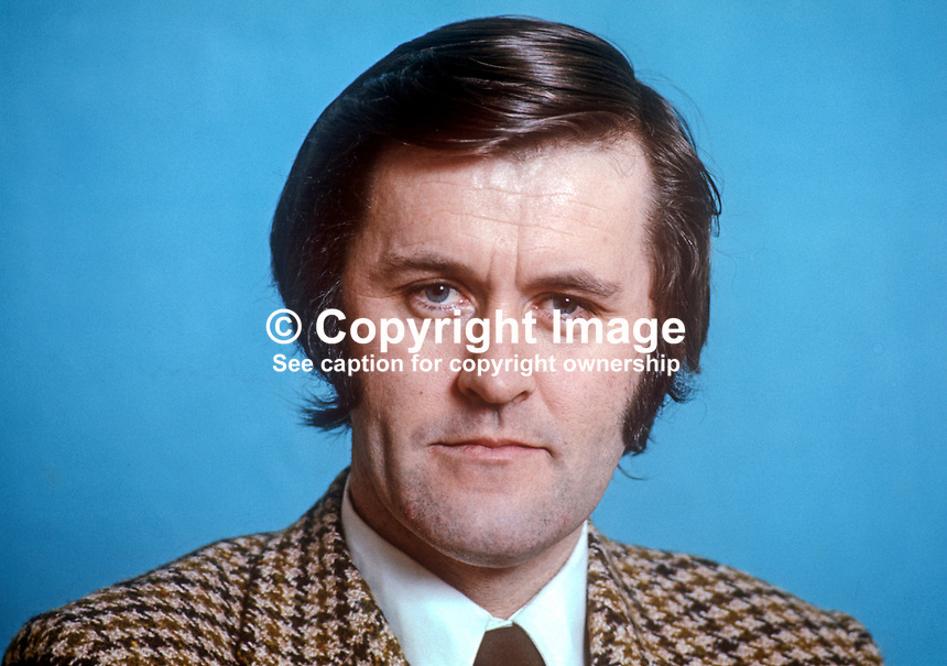 Michael O'Leary, TD, Rep of Ireland MP, Irish Labour Party, Minister for Labour, Fine Gael-Labour Party National Coalition. March 1975. 197503000190MOL2<br />