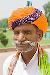 Punjabi man, Red Fort, Old Delhi