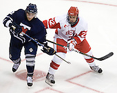 Tyler Turcotte (Toronto - 2), Ross Gaudet (BU - 22) - The Boston University Terriers defeated the visiting University of Toronto Varsity Blues 9-3 on Saturday, October 2, 2010, at Agganis Arena in Boston, MA.