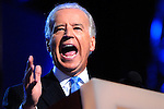 Democratic Vice President nominee Joe Biden speaking, August 27, 2008, at the 2008 Democratic National Convention at the Pepsi Center in Denver, Colorado.