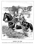 Crossing the Ford. [The second reading of the bill to provide better care for neglected children was moved in the House of Lords last week.]