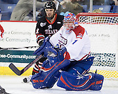 Steve Silva (Northeastern - 17), Marc Boulanger (Lowell - 1) - The visiting Northeastern University Huskies defeated the University of Massachusetts-Lowell River Hawks 3-2 with 14 seconds remaining in overtime on Friday, February 11, 2011, at Tsongas Arena in Lowelll, Massachusetts.