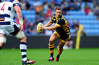 Jimmy Gopperth of Wasps in possession. Pre-season friendly match, between Wasps and Yorkshire Carnegie on August 21, 2016 at the Ricoh Arena in Coventry, England. Photo by: Patrick Khachfe / JMP