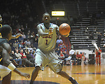 "Ole Miss forward Terrance Henry (1) passes at C.M. ""Tad"" Smith Coliseum in Oxford, Miss. on Saturday, December 4, 2010."
