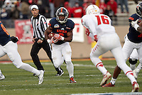 ALBUQUERQUE, NM -DECEMBER 17, 2016: The University of Texas at San Antonio Roadrunners fall to the University of New Mexico Lobos 23-20 in the Gildan New Mexico Bowl at University Stadium. (Photo by Jeff Huehn)