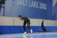 SCHAATSEN: SALT LAKE CITY: Utah Olympic Oval, 13-11-2013, Essent ISU World Cup, training, Kjeld Nuis (NED), ©foto Martin de Jong