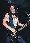 Slayer, Tom Araya, Photo By David Plastik/IconicPix 1988 Los Angeles
