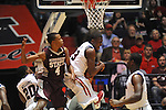 Ole Miss' Reginald Buckner (23) vs. Mississippi State's Rodney Hood (4) at the C.M. &quot;Tad&quot; Smith Coliseum in Oxford, Miss. on Wednesday, January 18, 2012. (AP Photo/Oxford Eagle, Bruce Newman).