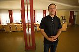 Siergiej Sokolov , Refugee Center Grotniki. 2015.07.30. Grotniki, near Łódź. Poland
