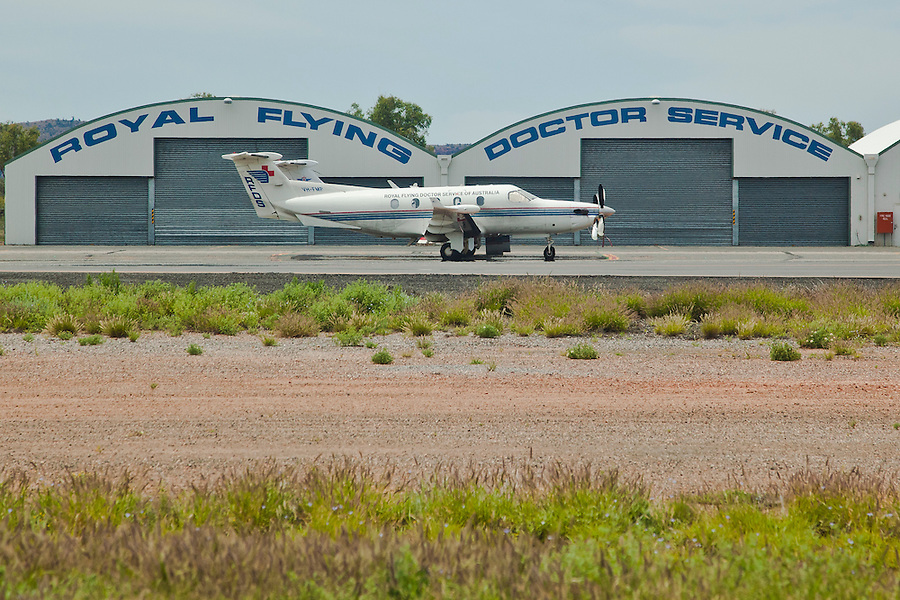 Royal Flying Doctor Service at Alice Springs Airport