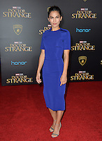 LOS ANGELES, CA. October 20, 2016: Elodie Yung at the world premiere of Marvel Studios' &quot;Doctor Strange&quot; at the El Capitan Theatre, Hollywood.<br /> Picture: Paul Smith/Featureflash/SilverHub 0208 004 5359/ 07711 972644 Editors@silverhubmedia.com