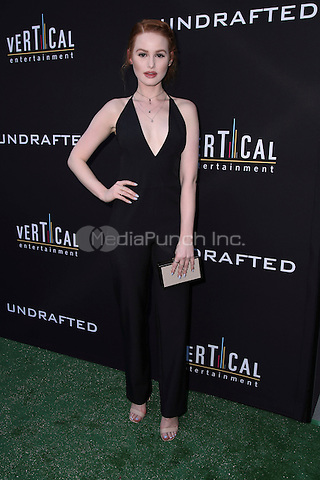 HOLLYWOOD, CA - JULY 11: Madelaine Petsch at the premiere of Undrafted at the Arclight in Hollywood, California on July 11, 2016. Credit: David Edwards/MediaPunch
