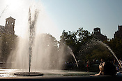 September 24, 2010. New York, New York.An ode to summer passing. Washington Square Park, New York, NY.