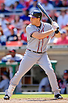 16 September 2007: Atlanta Braves first baseman Mark Teixeira in action against the Washington Nationals at Robert F. Kennedy Memorial Stadium in Washington, DC. The Braves shut out the Nationals 3-0 to take the third game of their 3-game series.. .Mandatory Photo Credit: Ed Wolfstein Photo