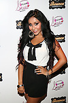 "Nicole ""Snooki"" Polizzi Introduces The First Artists Signed To Team Snooki Music: AdELA. B-Capp and Veronica Kole-Held at Bounce Sporting Club, NY"